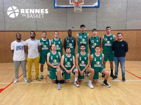 RPA Basket 2122 NM3 - equipe