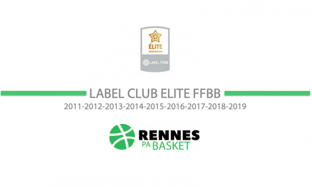 Label Elite Formation FFBB